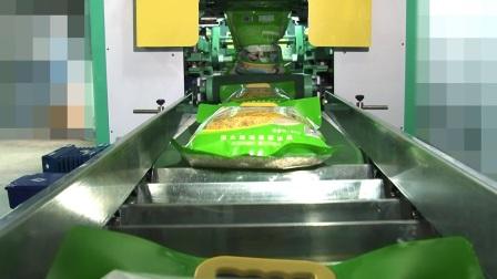 佳龙科技 全自动两面真空包装生产线PZB-900含装箱码垛