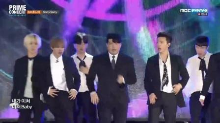 180228 SUPER JUNIOR《Sorry Sorry》《BLACK SUIT》K Pop World Festa Prime Concert