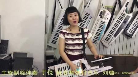 吐鲁番葡萄熟了 背挎伴奏器双排三排键电子鼓弹唱