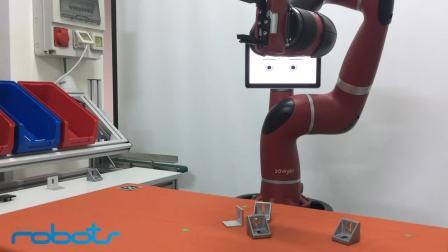 Sawyer智能协作机器人配备了嵌入式视觉系统