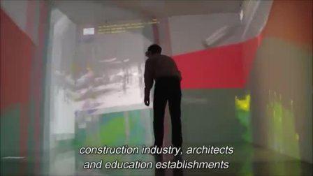 北安普顿大学CAVE系统用户体验:教育行业VR应用——TechViz客户方宣传