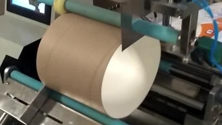 半自动纸罐贴标机--冰淇淋筒