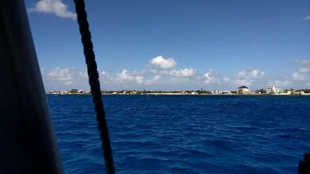 【6岁半】2-15哈哈美国行,嘉年华邮轮开曼群岛甲板美景video_144315