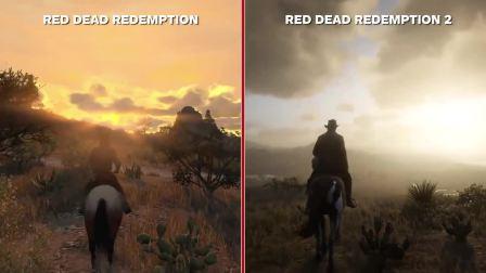 PS4《荒野大镖客》画面进化对比
