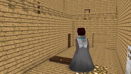 我的世界动画-高大裙子版恐怖婆婆-MAXIM