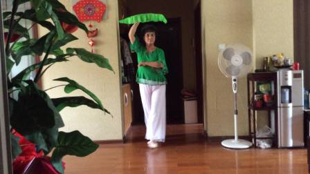 视频 第二套海派秧歌《太湖美》舞武樱花2018-08-29