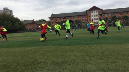 【快7岁】3-10哈哈少儿足球训练,2队分组对抗比赛IMG_0132