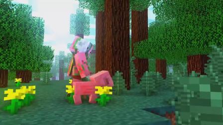 我的世界动画-猪人和小猪-PixelNitroz