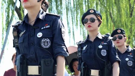 西湖女子风景特警队
