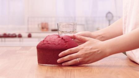 【糖语焙研|原创】减糖更好吃的美式经典配方红丝绒蛋糕