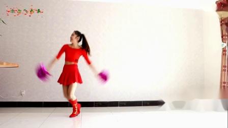 京京广场舞-贺新年花球舞《喜气洋洋》