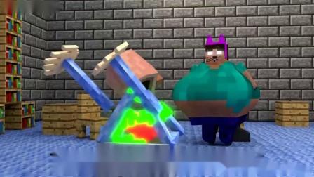 我的世界动画-巴迪的垃圾车-MrFudgeMonkeyz