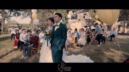 《如果我是一首歌》户外婚礼MV 20181119 李长青+李静 DeerLook