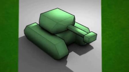 我的世界动画-坦克挑战-HAIDY MONS