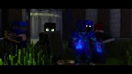 我的世界音乐MV-挣扎-Mad Blue