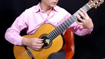 指弹吉它独奏曲《什么是爱?》 贺柳作曲 陈鹏和旋编配演奏 《夜晚的旋律》105期