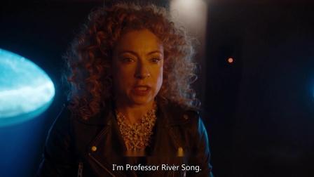 """神秘博士 第十季 丽芙·桑恩的丈夫 夺宝计划被识破,博士与桑恩""""抱头""""逃窜"""