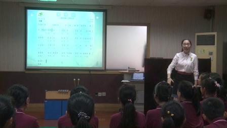 人音版音樂六下第3課《滑雪歌》課堂教學視頻實錄-王琦璐