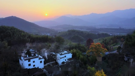 徽州——一部旅行纪录片,关于徽州的山川、河流、云海、日出和人们