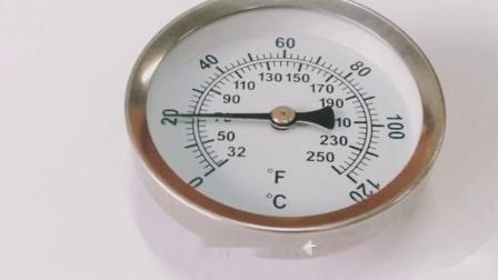磁铁双金属温度计,专测金属表面温度