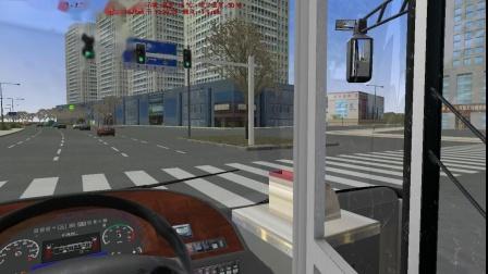 【OMSI 2】郑州市•郑东新区V2.0 S128路会展中心内环