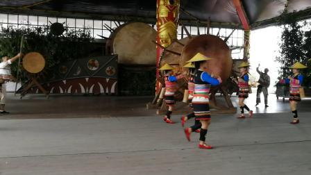 西双版纳 基诺族舞蹈《播种舞》