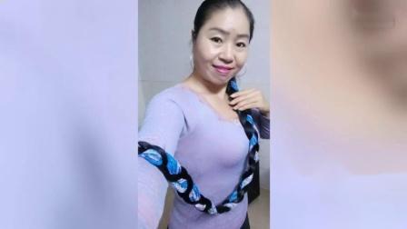 敏儿长发姐姐广场舞~~三谷里的思念~~编舞叶子-_高清