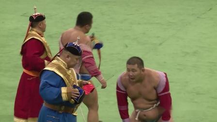【体育】蒙古搏克摔跤赛 2018年12月29日 精华 Part 2