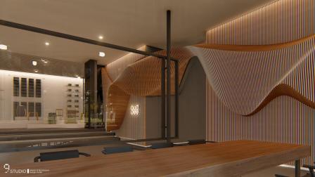 九号设计 李东灿 作品《布与竹的对话》3D动画影片