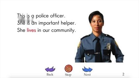 Community Helpers - RAZ level-D