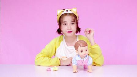 乐吉儿玩具 萌娃来袭!小满和她的爬行宝宝!