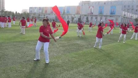 长绸柔力球展示