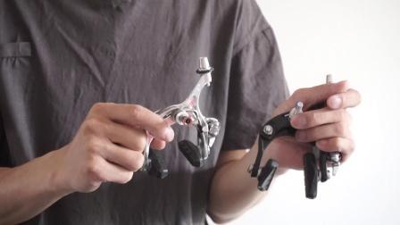 死飞刹车安装 判断是否能安装刹车 刹车选择 自行车刹车器刹车把规格视频教学 飞翔8单车馆