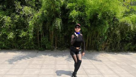 紫竹园杜老师广场舞《站着等你三千年》学跳