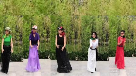 广场舞紫竹院(那一天)学跳