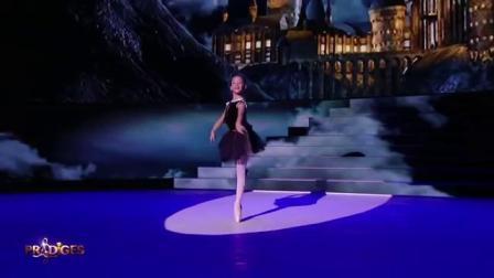 Chloé danse sur le thème dHarry Potter de John Williams - Prodiges 5