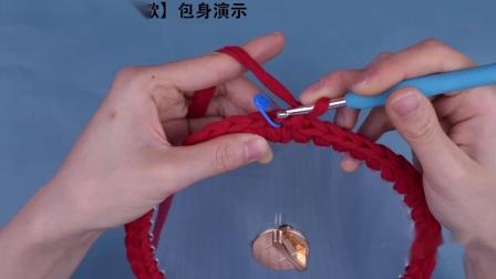 泫雅编织包亚克力透明手工编织包包——有盖款亚克力包-_超清