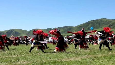 甘南州合作市锅庄舞代表队