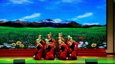 张家口市老年大学艺术团舞蹈队演出舞蹈《心  声》