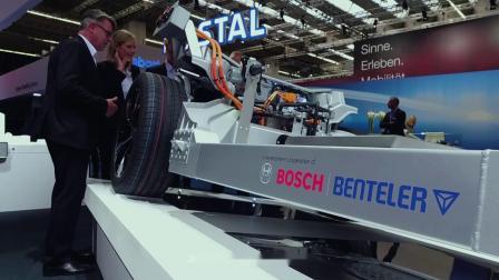 本特勒电动汽车驱动系统2.0亮相欧洲