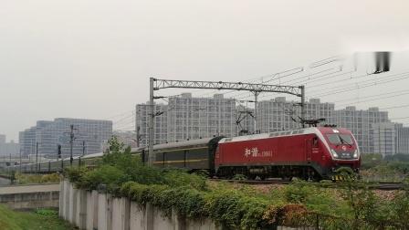 『2019.10.27沪昆铁路』【杭州东站附近】HXD1D0661牵引K352