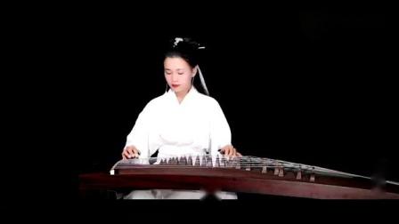 【古筝】露露古风造型演奏《渡情-伴奏版》(古舍坊)