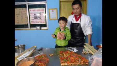 徐州啊二土家酱香饼的做法   怎么做酱香饼  酱香饼和面的配方