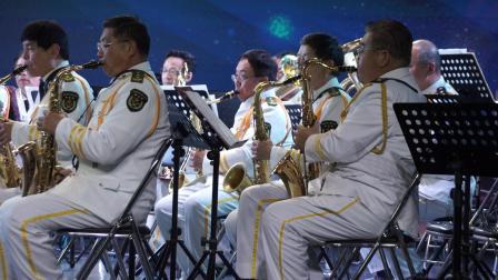 济南老年大学管乐团演出