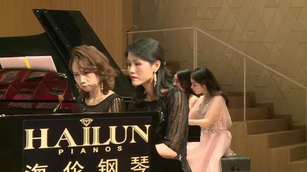 美女钢琴家组团来袭,四手联弹合作默契惊艳全场 2020年福建省钢琴协会新年音乐会 20200118