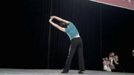 2013年全国柔力球培训班《石家庄》王学军老师《拉筋操》