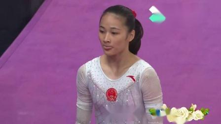 2018亚运会体操女子团体决赛 - 刘津茹 自由操 12.800分