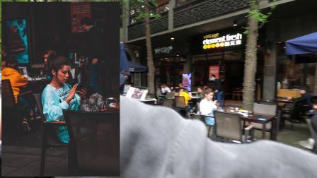 【上海淮海路街拍】【水友双排第一视角-索尼a7r3搭载24-70GM镜头】双人行扫街VLOG-记录身边的美好