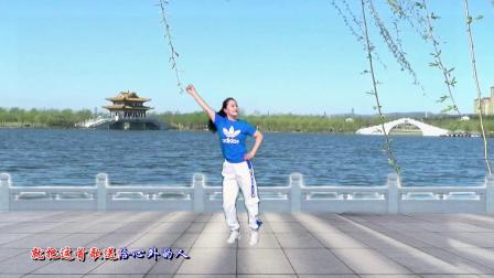 华子广场舞网红弹跳32步《点歌的人》