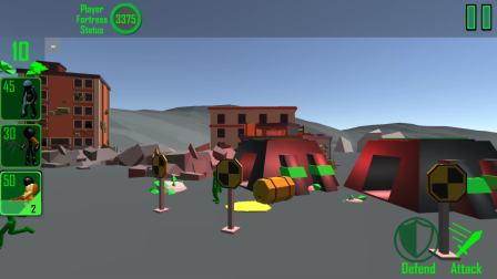 火柴人战争模拟器3D版:喷火兵这么强的吗,一个可以打5个僵尸